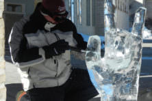 Fire and Ice Festival, Ice Carving