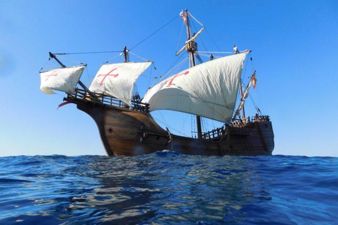 'Santa Maria' First Ship Named for Tall Ships Festival