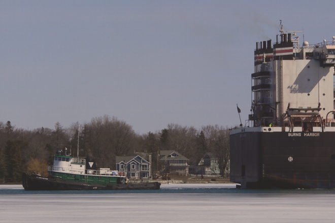 Burns Harbor Returns to Bay Shipbuilding After Fire