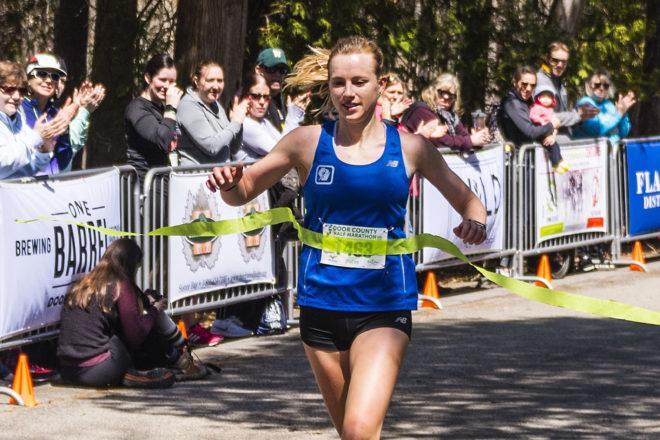 Christensen Paces Fastest Women's Field Ever in Door County Half Marathon