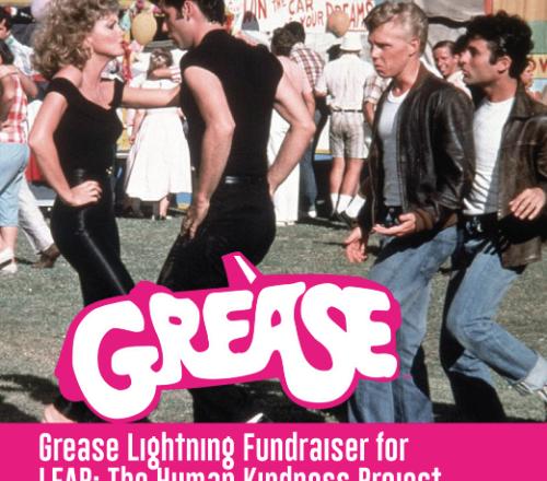 Grease Lightning Fundraiser at Maxwelton May 18